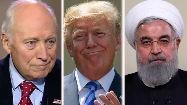Cheney on the Iran deal, Saudi Arabia corruption crackdown