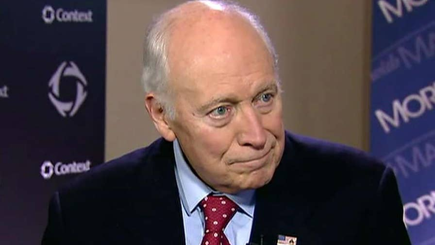 Former Vice President Dick Cheney shares his support for CIA director nominee Gina Haspel, reacts to Scooter Libby presidential pardon.