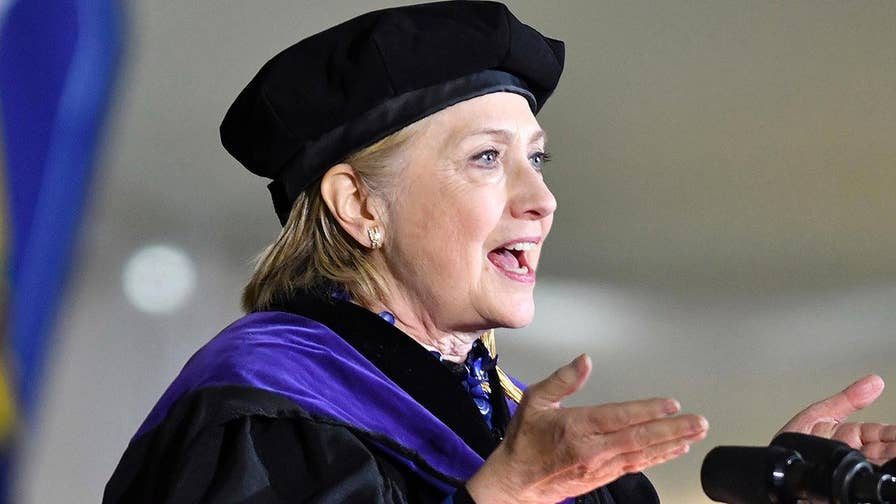 Hillary Clinton criticizes Trump's Iran deal decision while overseas; James Freeman of the Wall Street Journal shares his perspective.