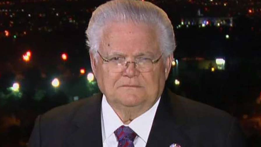 Pastor John Hagee says he believes that the peace process was accelerated by the decision to move the U.S. embassy in Israel to Jerusalem.