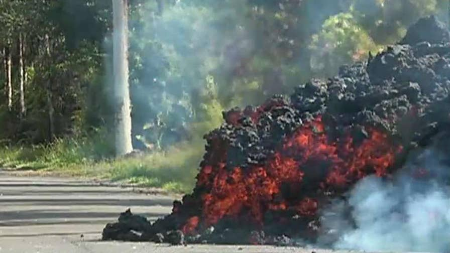 Hawaii resident describes being awoken by an explosion.