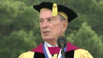Former New York City mayor issues 'dire warning' to graduates. Panel debates the commencement speech.