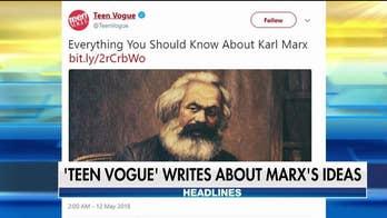 Is Teen Vogue turning Karl Marx into its next teen idol?