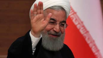 President Rouhani says his country will stay in the agreement if France, Britain, Germany, China and Russia continue to uphold their end of the deal.