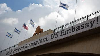 Press ignoring bipartisan advocacy for moving the U.S. embassy in Israel from Tel Aviv to Jerusalem? Analysis from Beverly Hallberg, president of District Media Group, and Judy Miller, Pulitzer Prize-winning investigative reporter and Fox News contributor.