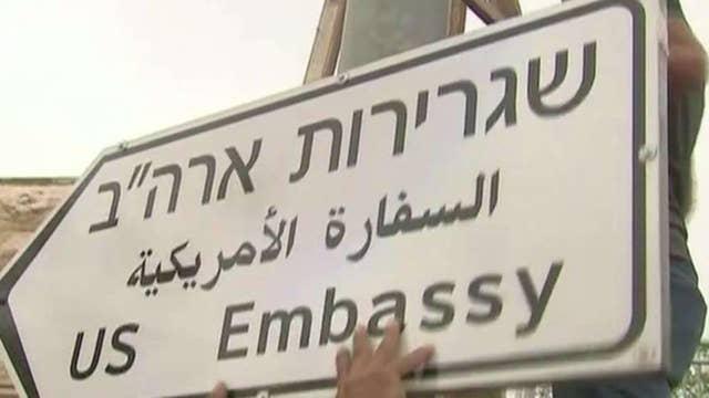 US embassy set to open in Jerusalem