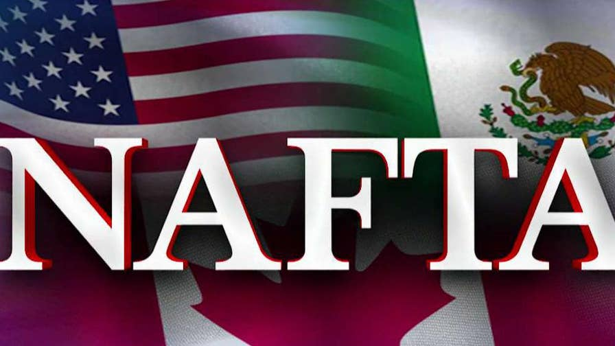 There appears to be little progress in trade negotiations between the U.S., Canada and Mexico just three days ahead of a congressional deadline; Rich Edson reports.
