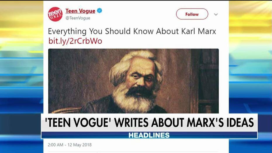 Teen Vogue Called Out for Article on Karl Marx