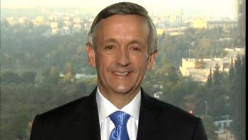 Fox News contributor and senior pastor at the First Baptist Church of Dallas join 'Fox News @ Night' from Jerusalem to respond to critics of his prayer at the new U.S. embassy in Israel.