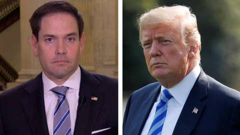 Sen. Rubio on whether Trump has reversed course on China
