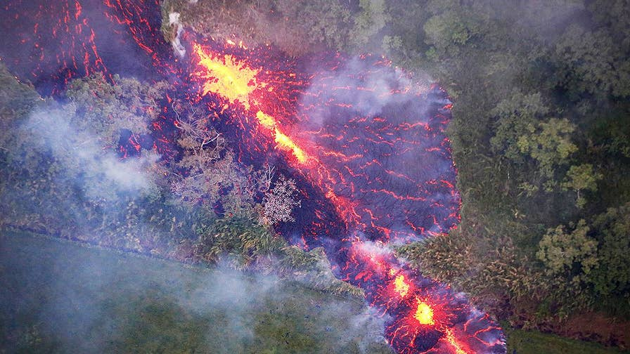 Lava, toxic gas and threats of the Kilauea volcano blowing its top are becoming permanent worries of some residents on Hawaii's big island; Jeff Paul reports.