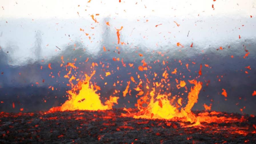 Dangerous levels of toxic gases found near the fissures of the volcano. Jeff Paul reports from Hawaii.
