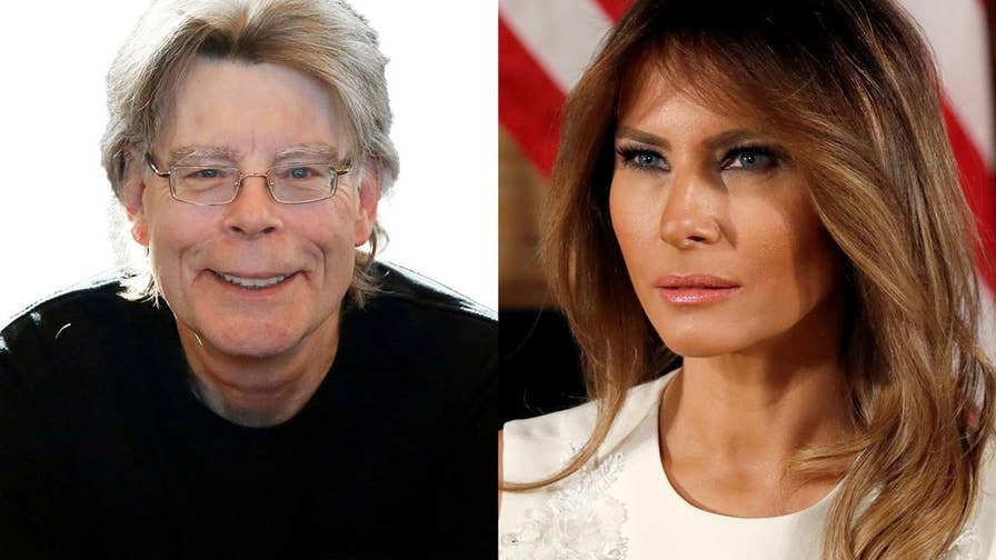 Author Stephen King is under fire after a tweet mocking First Lady Melania Trump undergoing surgery.
