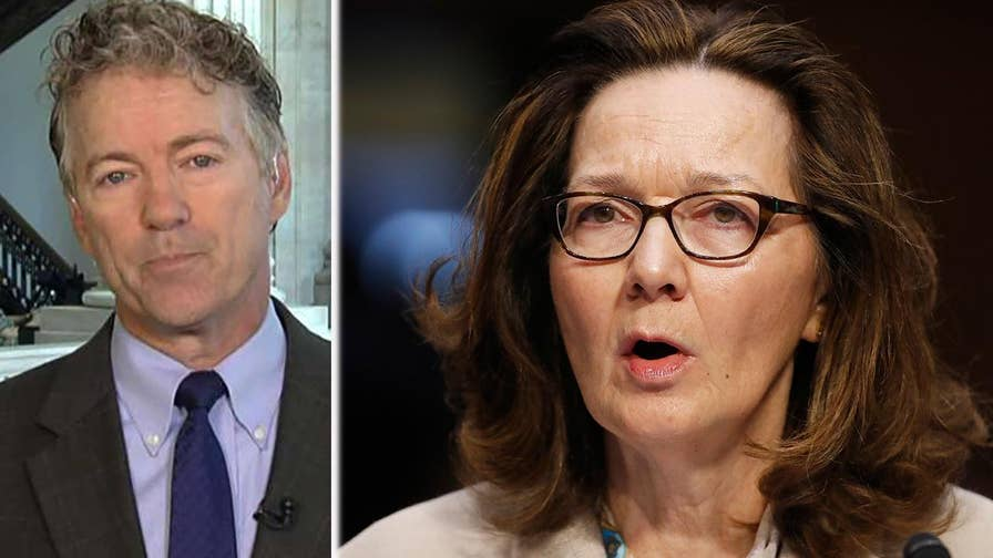 Kentucky Senator Rand Paul lays out concerns about Gina Haspel's ties to John Brennan, weighs in on North Korea's threat to cancel Trump-Kim summit and discusses troubling White House leaks.