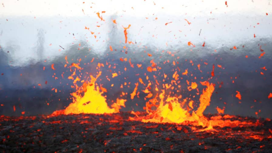 Officials say fissures near Kilauea volcano are releasing high levels of sulfur dioxide; Jeff Paul reports from Hawaii.