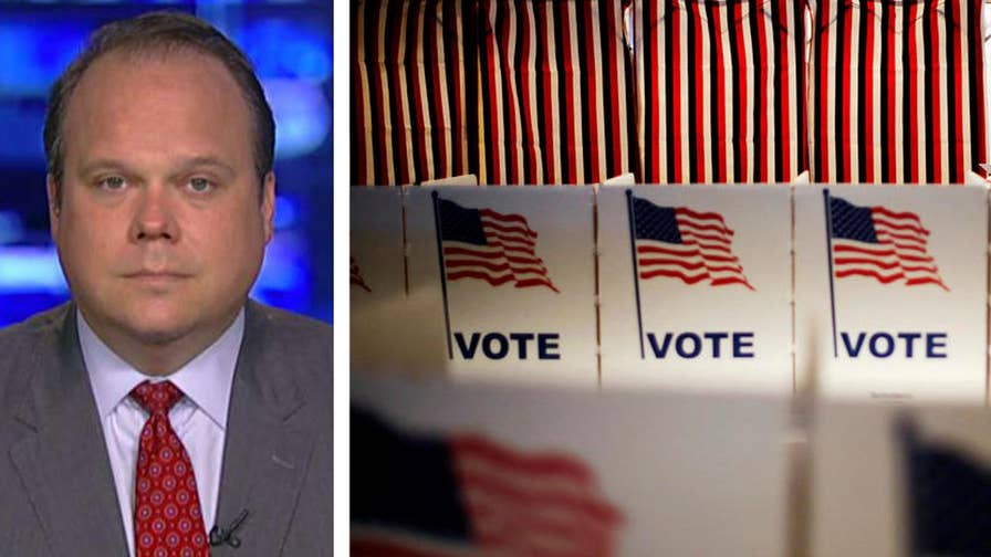 Fox News politics editor Chris Stirewalt and Mo Elleithee join 'The Story' to discuss today's primary results in four key states and offer insight on what the Democratic party needs to win back control of Congress this fall.