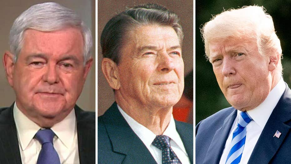 Gingrich on how Trump's accomplishments mirror Reagan's
