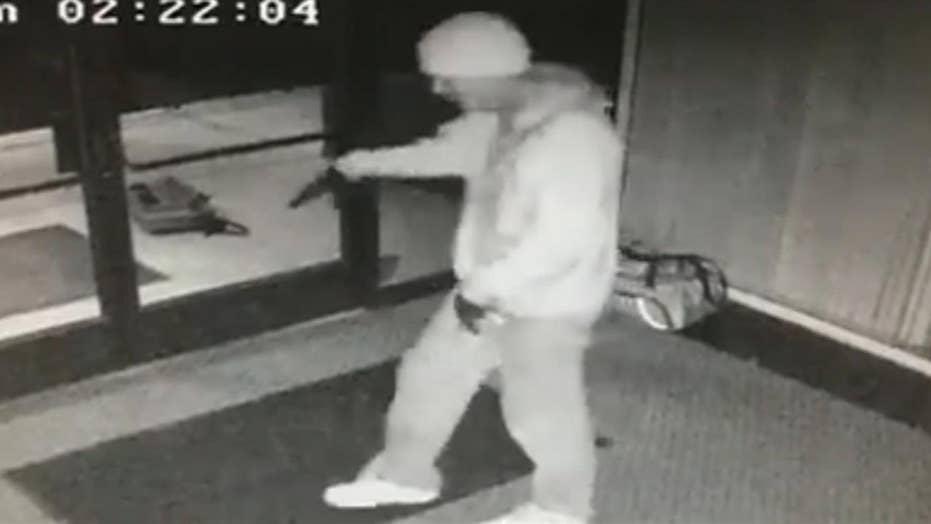 Breakdancing burglar caught on surveillance camera