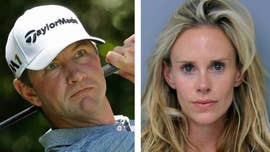 The wife of former U.S. Open champion Lucas Glover arrested on a domestic violence charge made the first call to 911 and claimed she was attacked by her mother-in-law, according to a tape released Wednesday.