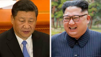 As Chinese President Xi greeted a visiting North Korean delegation, the North Korean ally urged Pyongyang not to give up on the talks; senior foreign affairs correspondent Greg Palkot reports from London.