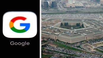 A dozen Google employees quit this week after more than 3,000 signed a petition demanding the tech giant not partner with the Pentagon; national security correspondent Jennifer Griffin reports from the Pentagon.