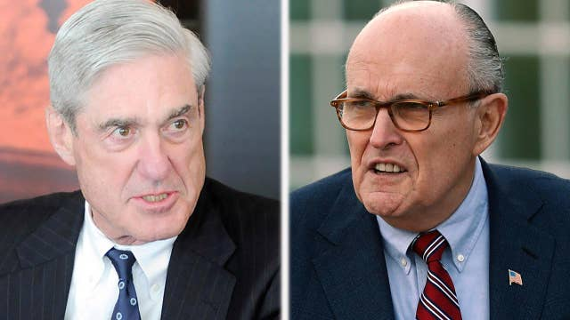 Giuliani says Mueller acknowledged he can't indict Trump