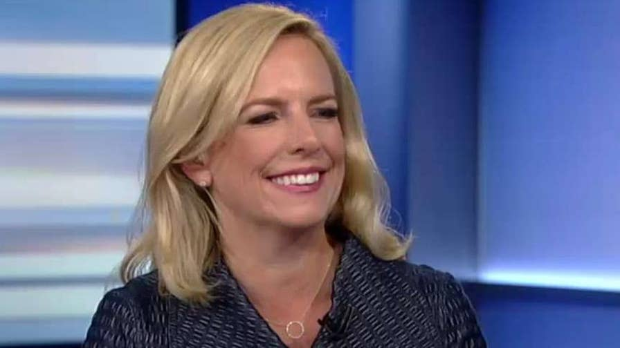 Homeland Security Secretary Kirstjen Nielsen joins 'The Ingraham Angle' to discuss her relationship with President Trump and the administration's plan to end catch-and-release on the border.
