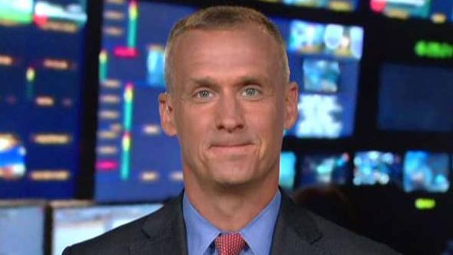 Former Trump campaign manager tells Martha MacCallum on 'The Story' that Vice President Pence's PAC supports candidates who support the Trump-Pence agenda, comments on latest revelations on the Mueller probe.