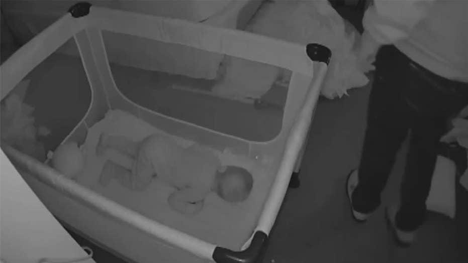 Nanny cam catches creepy intruder in home