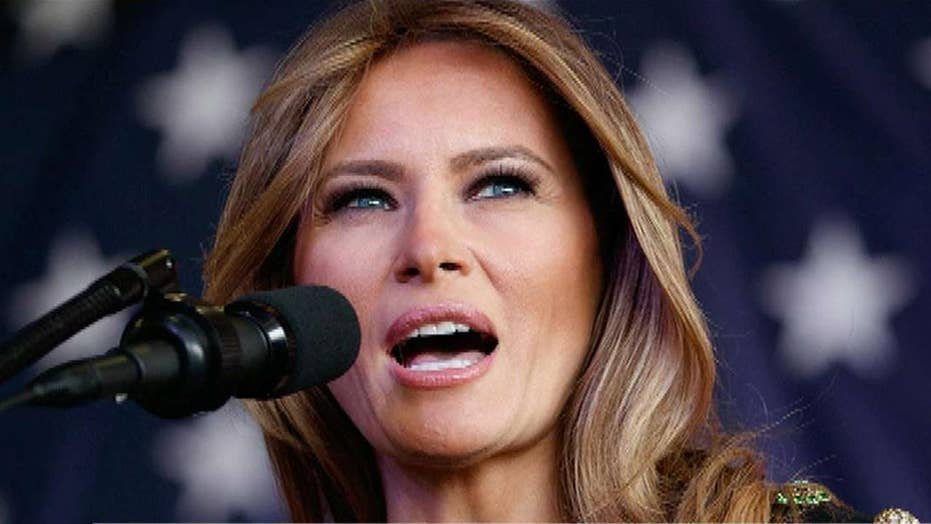 Melania Trump sends thank you for good wishes, prayers