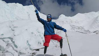 69-year-old Xia Boyu from China successfully summits the world's highest mountain on his fifth attempt.