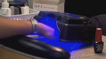 Doctors sound alarm over gel manicures and UV light