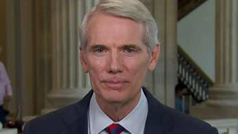Senator Rob Portman weighs in on President Trump's meeting with China officials on trade, intellectual property and the national security issue posed by ZTE.