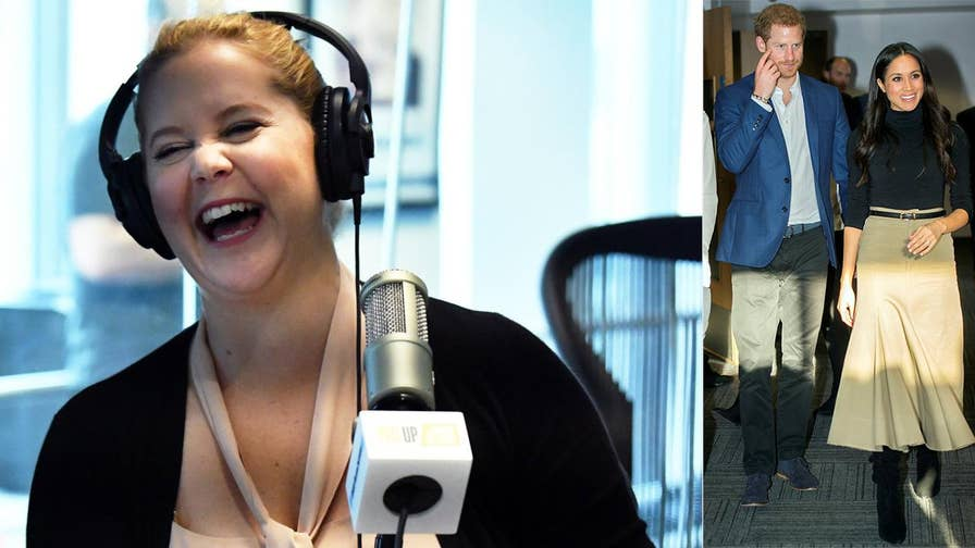 Comedian Amy Schumer says the royal wedding will suck and compares it to a dog show.