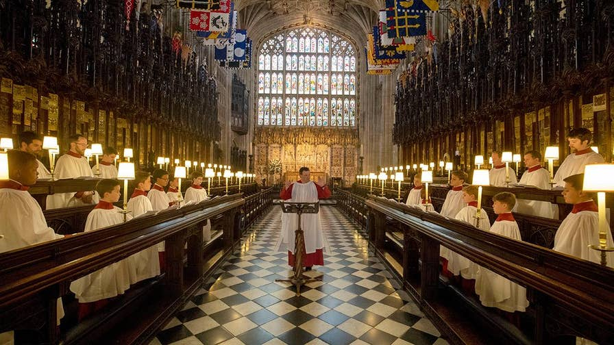 600 invited guests will be inside St. George's Chapel at Windsor Castle to witness Prince Harry and Meghan Markle tie the knot.