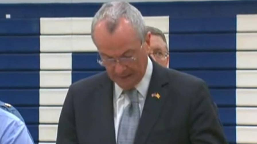 Governor Phil Murphy releases information after New Jersey school bus is involved in a serious crash with a dump truck.
