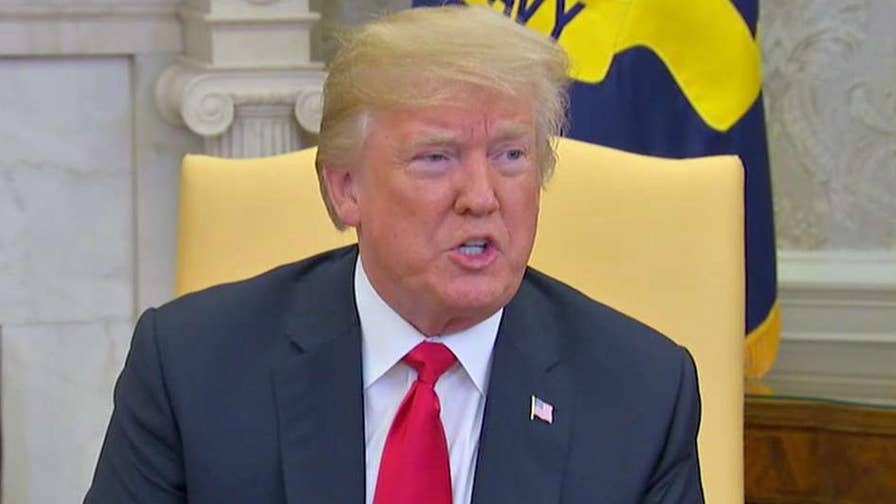 U.S. and China are back at the bargaining table as new negotiations aim to avert a trade war; Kevin Corke reports from the White House.