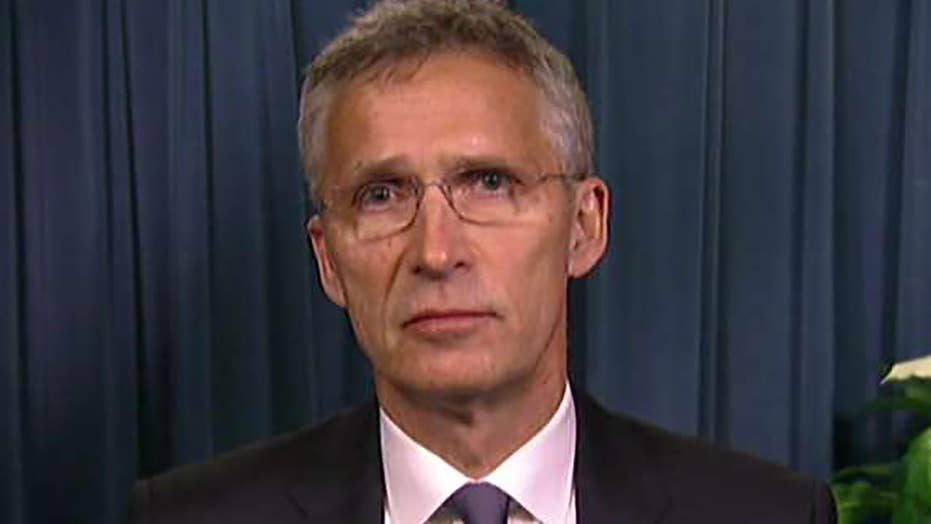 NATO secretary gen.: Trump talks focused on defense spending