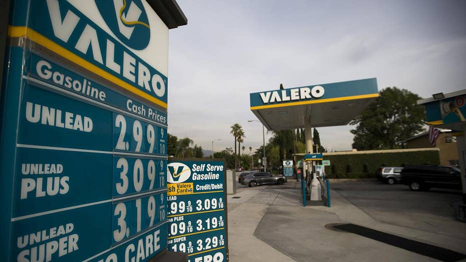 Gas price averages predicted to rise to $3 per gallon
