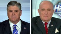 Rudy Giuliani says Trump is eager to come forward to tell the truth if the process if fair; Giuliani shares his perspective on the one year anniversary of the Russia investigation on 'Hannity.'