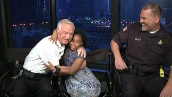 8-Year-Old Travels the U.S. to Hug Police Officers in All 50 States
