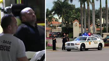 Suspect in custody after firing shots inside the lobby of Trump National Golf Club in Doral, Florida; Phil Keating reports.