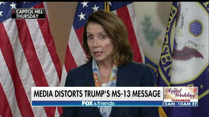Nancy Pelosi: 'Calling People Animals Is Not A Good Thing'