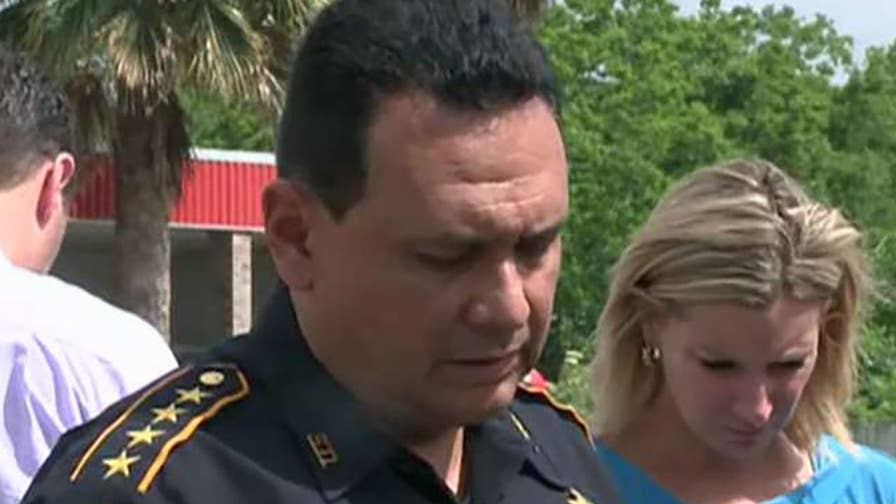 Harris County Sheriff Ed Gonzalez says 8 to 10 victims feared dead in Texas school shooting.