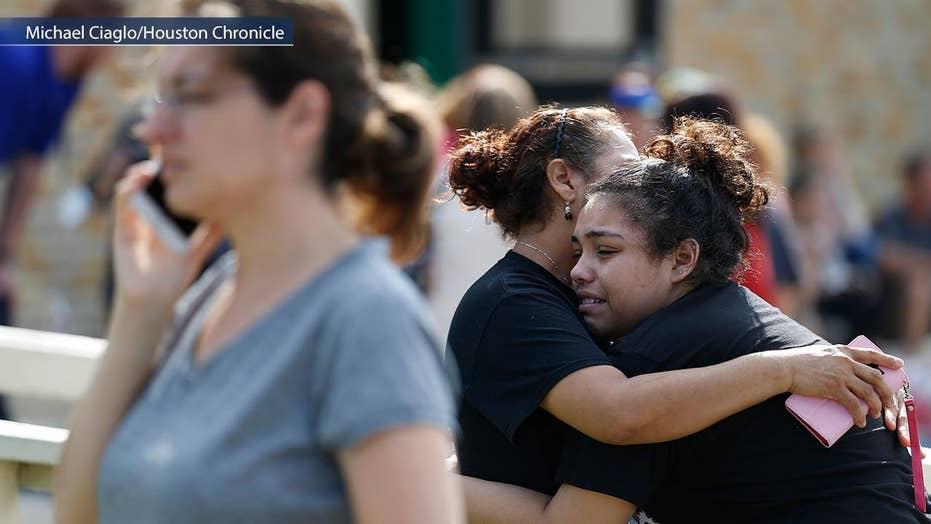 Gunman in custody after school shooting at Texas high school
