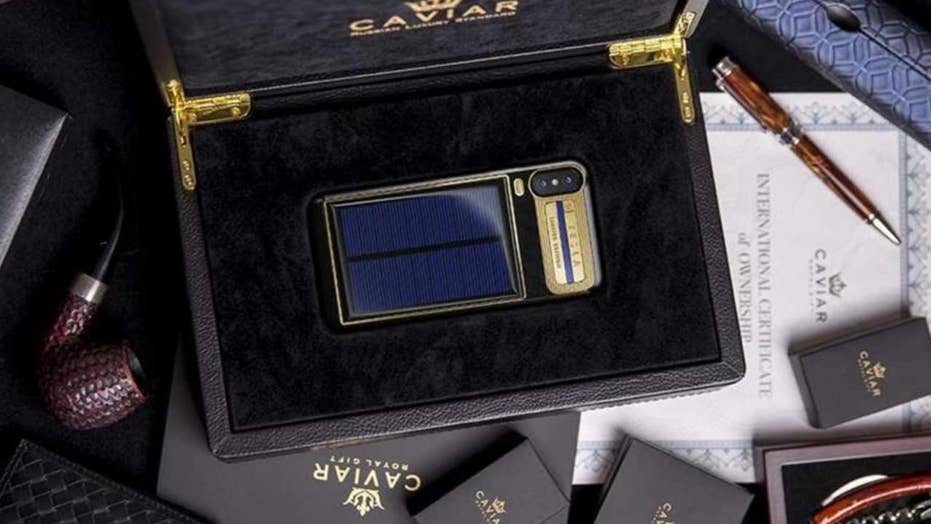 Luxury solar-powered iPhone X to sell for $4,500