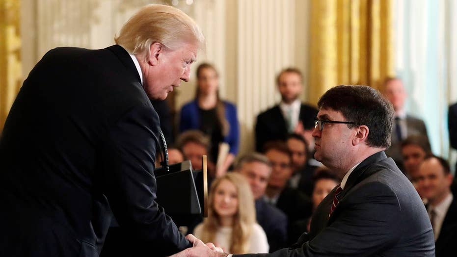 Trump taps Robert Wilkie to head Veterans Affairs