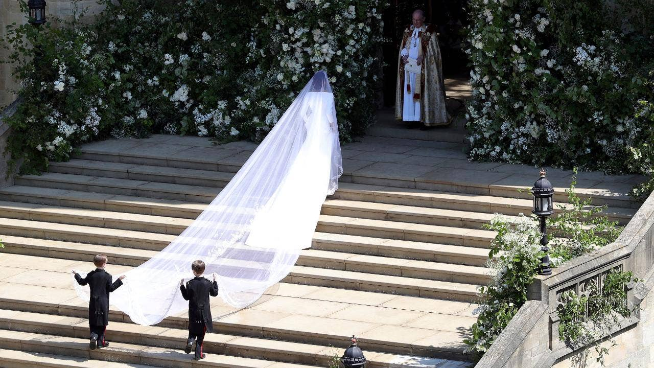 Meghan Markle stuns in Clare Waight Keller for Givenchy at royal wedding