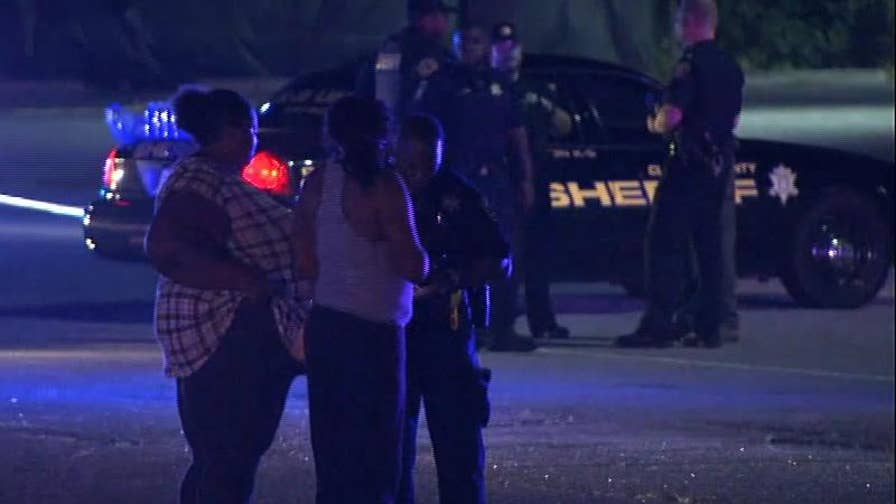 Raw video: Police on the scene after an active shooter incident during a graduation ceremony at Mt. Zion High School.