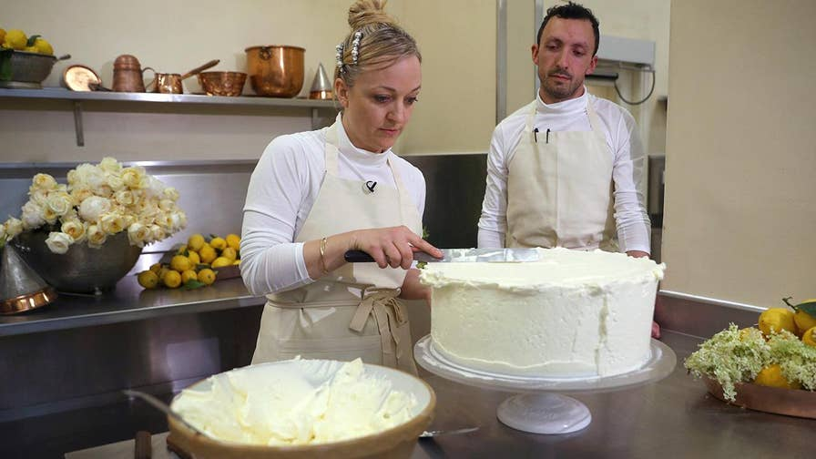Harry and Meghan's wedding cake includes elderflower syrup made from the queen's trees.